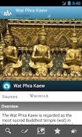 Screenshot of Thailand Travel Guide