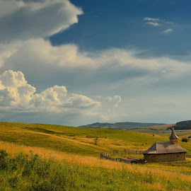 Silence by Horia Stefan Tranc - Landscapes Prairies, Meadows & Fields