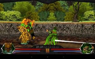 Screenshot of Gormiti:  Shards of Power