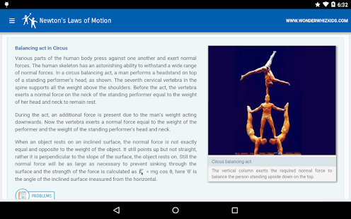 Newton's Laws of Motion - screenshot