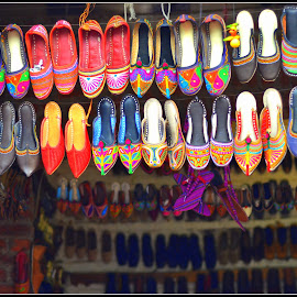 Shoes  by Prasanta Das - Artistic Objects Clothing & Accessories ( shoes, display, rack )