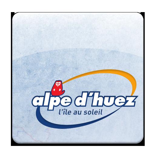 Geoskiing: Alpe d'Huez LOGO-APP點子