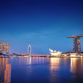 marina bay by Rhonny Dayusasono - Buildings & Architecture Public & Historical
