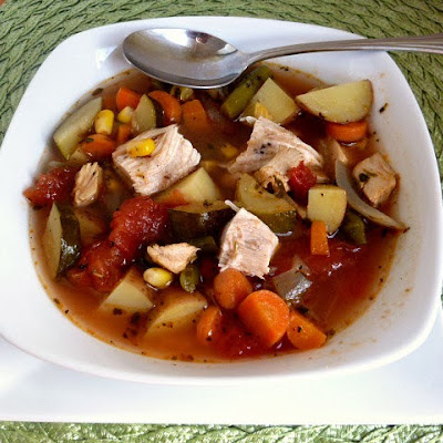 Calico Chicken Soup Adapted From Rachael Ray