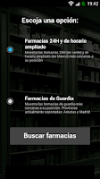 Screenshot of Farmacias