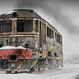 ghost train  by Constantin Gabriel Bogdan - Transportation Trains (  )