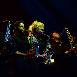 Saxophone Salute by Dimas Prasasto - People Musicians & Entertainers ( music, concert, gerald albright, dave koz, richard elliot, saxophone, mindi abair )