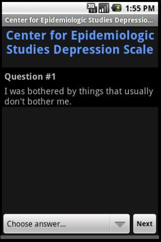 免費下載健康APP|CES Depression Scale app開箱文|APP開箱王