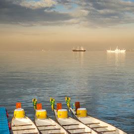 by Francis Cayetano - Transportation Boats