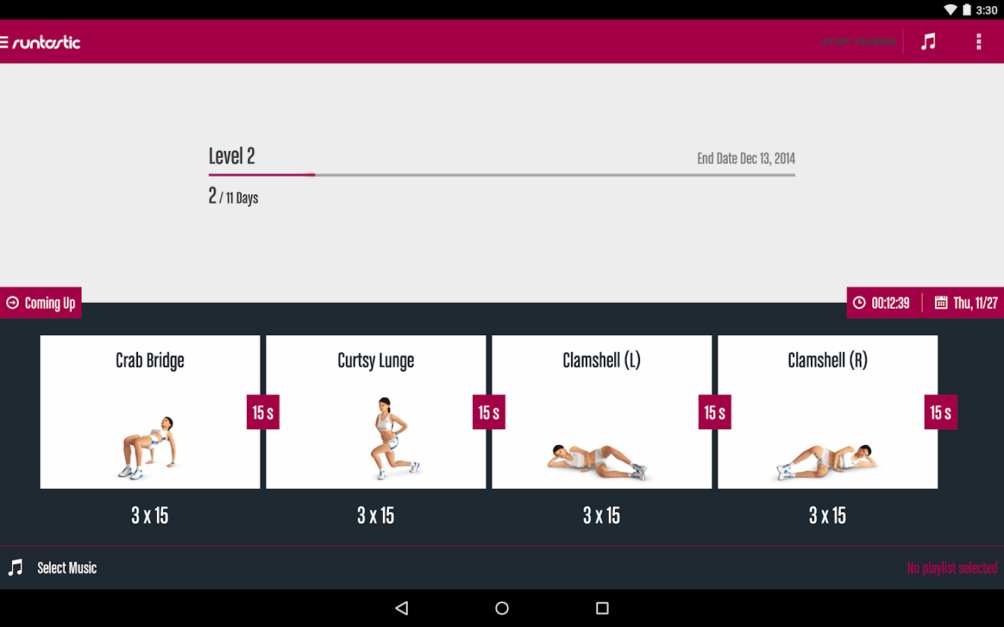Runtastic Butt Trainer Workout Screenshot 7