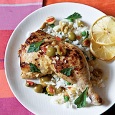Chicken with Lemon and Olives
