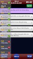 Screenshot of Luyện thi Vật Lý