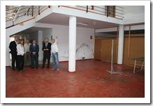 Las autoridades visitaron el Pabellón tras la firma del convenio.