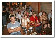 Público presente en el acto de presentación.