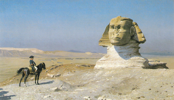 Gerome_Bonaparte_before_the_Sphinx