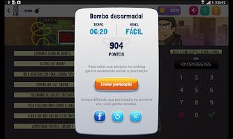 Screenshot of Coquetel Bomba