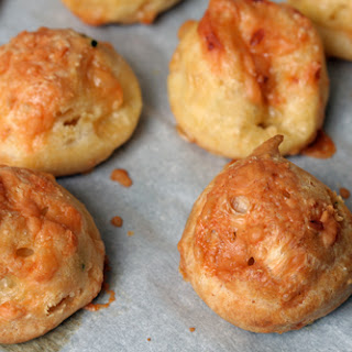 A Recipe for French Cheese Puffs