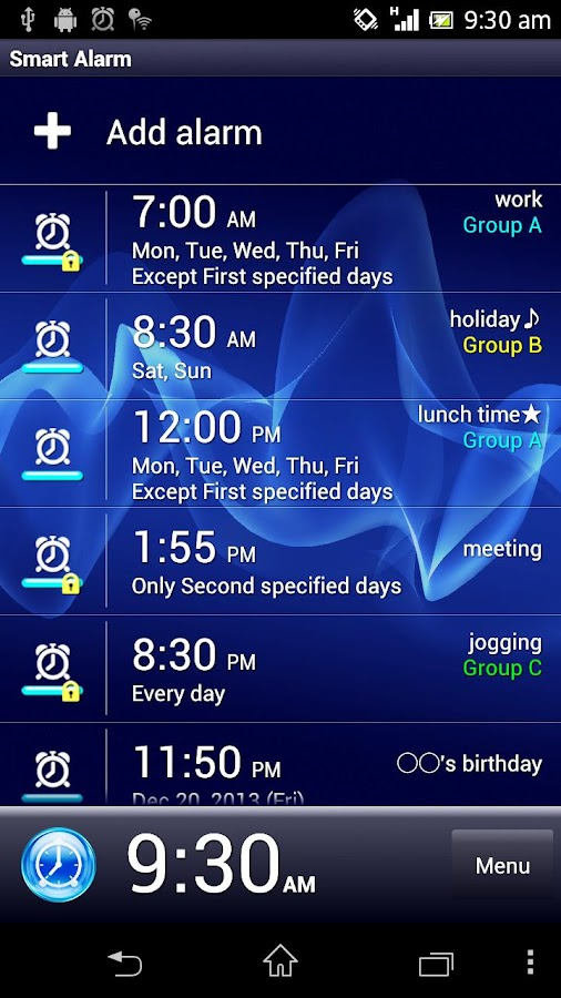Smart Alarm (Alarm Clock) Screenshot 0