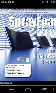 SprayFoamMag - screenshot