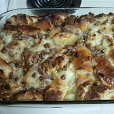 Cajun Bread Pudding