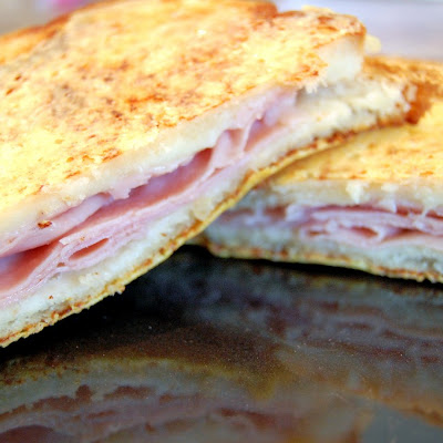 "Croque Monsieur – ""Fancy"" Toasted Ham and Cheese"