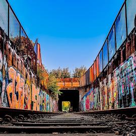 by Eskil Berget - Transportation Railway Tracks