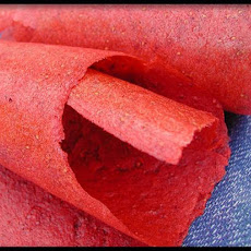 Passion Strawberry Fruit Leather - Dehydrator Roll-Ups