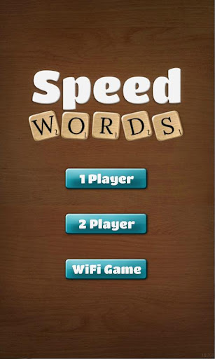 Speed Words Demo
