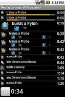 Screenshot of StarCraft II Replay Lite