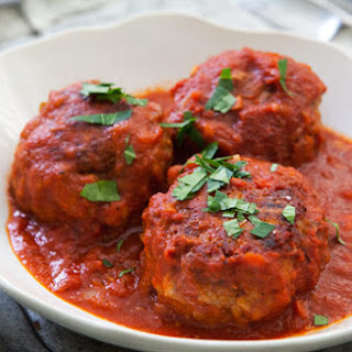 Italian Meatballs Cooked In Sauce Recipes