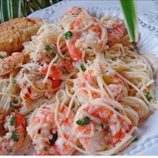 Kittencal's Lemon Shrimp Scampi With Angel Hair Pasta