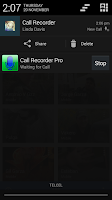 Screenshot of Digital Call Recorder Pro