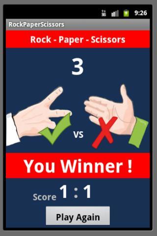 【免費休閒App】Rock-paper-scissors-APP點子
