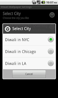 Screenshot of A Diwali Cities Live Wallpaper