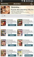 Screenshot of Popular Woodworking eBooks