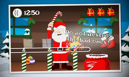 Crazy Santa: Xmas Gift Smasher - screenshot