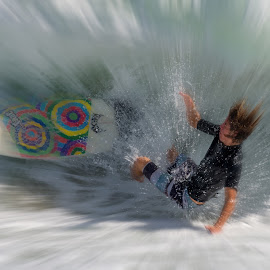 WIPEOUT! by Courtland Roberts - Sports & Fitness Surfing