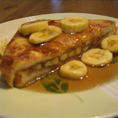 Banana and Peanut Butter Toast