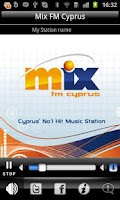 Screenshot of Mix FM Cyprus