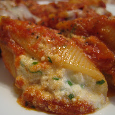 Low Fat Stuffed Pasta Shells