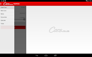 Screenshot of Cars.co.za