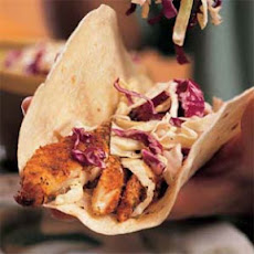 Cajun Catfish Wraps with Slaw
