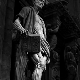 a statue in St.Peter Basilica by Lindra Hismanto - Buildings & Architecture Statues & Monuments ( statue, lindra, hismanto, st peter, vatican )