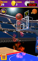 Screenshot of Swipe Basketball