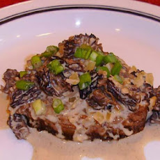 Veal Medallions With French Morels