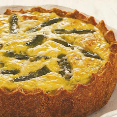 Savory Cheesecake With Ricotta, Feta and Asparagus