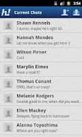 Screenshot of Hello! Messenger