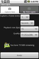 Screenshot of Time-Lapse
