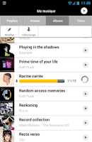 Screenshot of musicMe