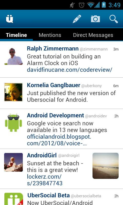 UberSocial PRO for Twitter Screenshot 0